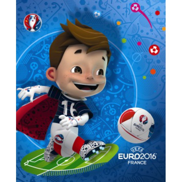 MASKOTA VIKTOR UEFA MODER ZVEZEK