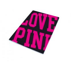 LOVE PINK ZVEZEK